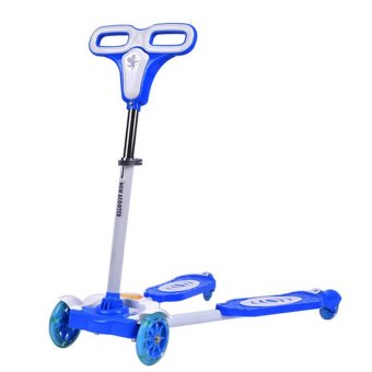 4 Wheels Scooter with Laser Wheel (Blue) Price Philippines
