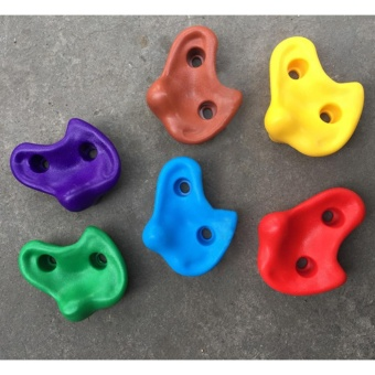 Kids Rock Climbing Holds with Mounting Hardware(QIMIAO) - intl Price Philippines