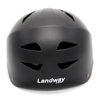 Landway Skateboard Helmet black