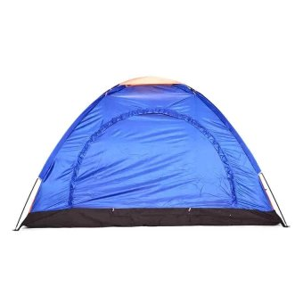 Lightweight 4-6 Person Camping Backpacking Tent With Carry Bag(Multicolor)
