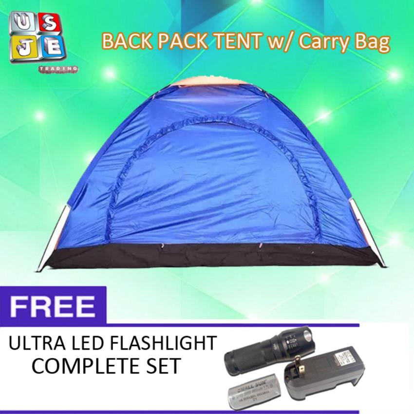 Lightweight 4-6 Person C&ing Backpacking Tent With Carry Bag(Multicolor) with FREE  sc 1 st  Philippines Price Comparison & Buy Lightweight 4 Person Camping Backpacking Tent With Carry Bag ...