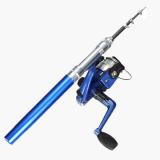 Mini Portable Telescopic Fishing Rod (Blue) - 5