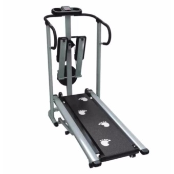 Muscle Power 203H 3 in 1 Magnetic Manual Treadmill