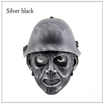New arrival Outdoor SWAT War Game Tactical Mask Full Face Airsoft Paintball Helmet Horror Ghost Skull Masks - intl
