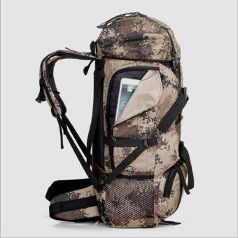 New tactics 80L outdoor hiking pack wild camping hiking backpack - intl