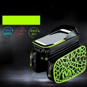 New Waterproof Mountain Bike Bicycle Bag (Printed - Green)