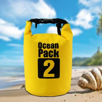 Ocean Pack 2 Portable Water Proof Nautical Dry Travel Tote Bag(Yellow)