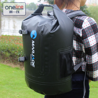 Oneline Marjaqe B1501 Beach Boating Trekking Camping SwimmingWaterproof Dry Bag 28L(Black) Price Philippines