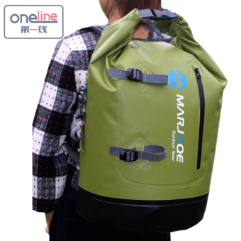 Oneline Marjaqe B1501 Beach Boating Trekking Camping SwimmingWaterproof Dry Bag 28L(Green) Price Philippines