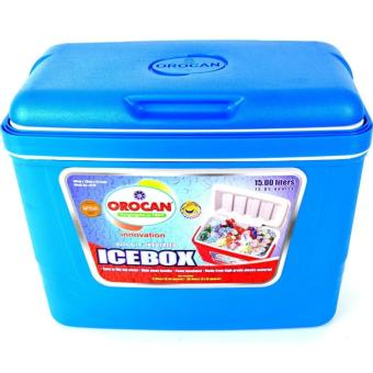 Orocan Ice Box Chest Insulated Cooler 15-Liters (Blue)