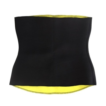 PAlight Women Body Shaper Corset Stretch Slimming Waist Trainer Sport Fitness Absorb Sweat Belt (size:L) - intl