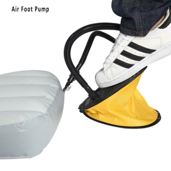 Portable Air Step Foot Pump Inflator for Inflatable Mattress Raft Bed Balloon Toy - intl Price Philippines