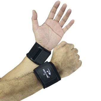 PROCARE PROTECT #2004 Weight Lifting Wrist Support 4mm ThickNeoprene Pair (Black)