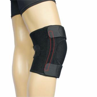 PROCARE PROTECT #6028 Knee Support Brace 9-inch with Stabilizer on Both Side, Close Patella Adjustable, Unisex