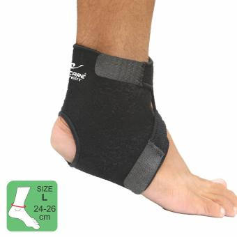 PROCARE PROTECT #8907R Ankle Support, 2Way Adjustable Ankle and Foot, 4mm Thick Neoprene for RIGHT ANKLE, Unisex SIZE(LARGE)