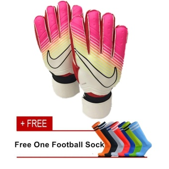 Professional Football Goal Keeper Gloves / Soccer Goal Keeper Gloves Finger Protection (Size 9) - intl
