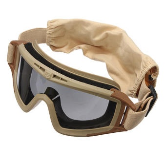 Qiaosha CS Game Airsoft Explosion-proof Goggle Glasses Eye Protection Mask