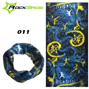 RockBros Winter Fleece Thermal Bandana Multi-function Magic Headband Neck Warmer Mask Scarf Bicycle Bike Cycling Bandanas Cap Face Mask