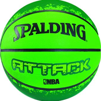 SPALDING ATTACK COLOR Rubber Outdoor Basketball Size 3 Price Philippines