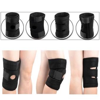 Spring Knee Kneepad Knee Support Protector Knee Guard Stabilizer -intl