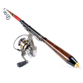 Telescopic Fishing Rod Travel Spinning Lure Rod Raft Pole Carbon Fiber 1.2M 3.94FT Price Philippines