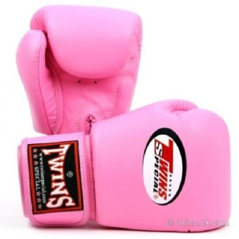 Twins Special Muay Thai Boxing Gloves 10oz (Pink)