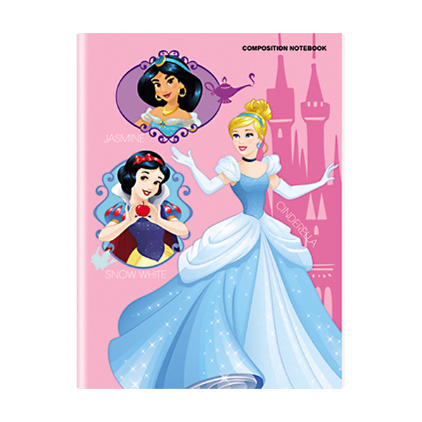 Image of Orions Disney Princess Composition Notebook Set of 10