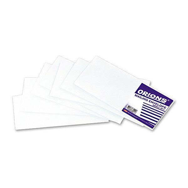 Image of 5 Orions Envelope Mailing Plain White Small