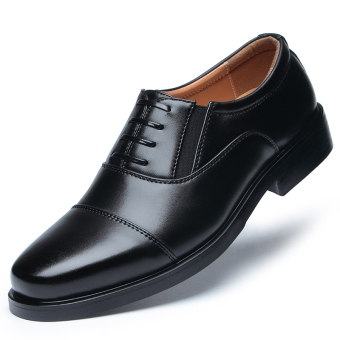 black Men standard delivery Shoes leather shoes