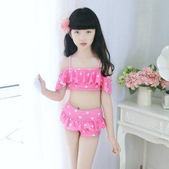 2-12Y Child Little Girls Bikini Swimsuit Kids Baby Girl Swimwear Bathing Suit Summer (
