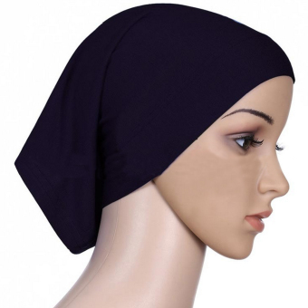 360DSC Women Hijab Underscarf Ninja Summer Tube Cap Head CoverScarf - Black Price Philippines