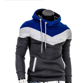 Amart Fashion Men Hooded Sweater Leisure Hoodie With Soft Fluff and Thicken