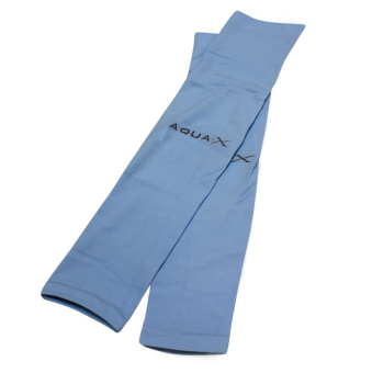 Aqua Cooling Arm Sleeve - UV Protection ( Light Blue )