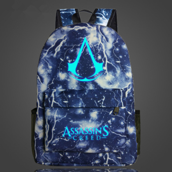 Assassin's Creed Noctilucent backpack schoolbag