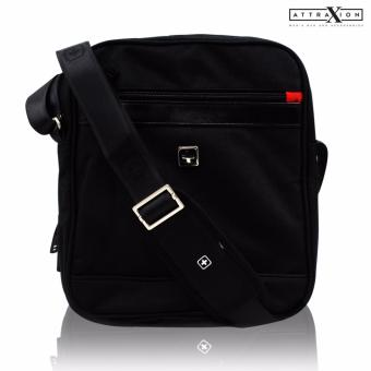 Attraxion Karl - A162 Sling Crossbody Bag for Men (Black)