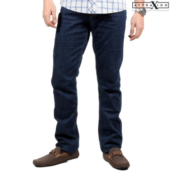 Attraxion Men's Denim Jeans Owen (Dark Blue)