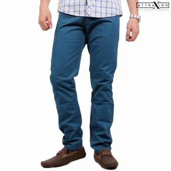 Attraxion Men's Skinny Jeans Herriot (Ocean Blue) Price Philippines