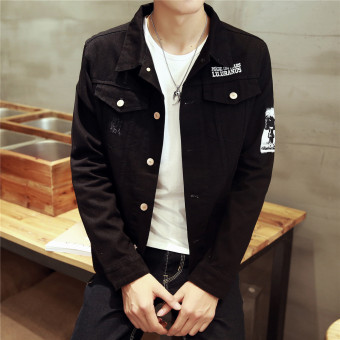 Winter Korean Men Long sleeve youth denim jacket Y051 Y051