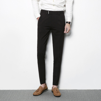 Autumn New style casual pants (Black)