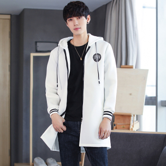 Autumn New style men's casual jacket (White)