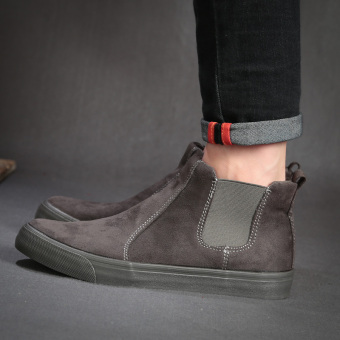 With China becoming England Men shoe foot men Dr Martens boots Gray Gray