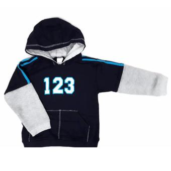 Boys Double Screen Hooded Jacket
