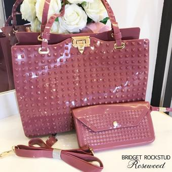 Bridget Rockstud with Wallet Super Sale (Rosewood)