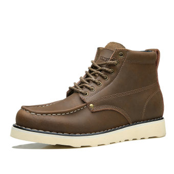 The British Leather Doc Martens men's boots Crazy Horse Brown Crazy Horse Brown