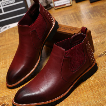 The British Men leather shoes men's boots Men shoes This section than leather shoes code is too large one yards This section than leather shoes code is too large one yards