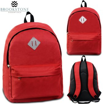 Brookstone Dionne Mccue Lash Tab Daypack Backpack (Red)