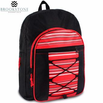 Brookstone Yuette Dumas Daypack Backpack (Red)