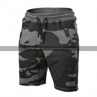Brother muscle fitness training running I shorts (Fans multi-color)