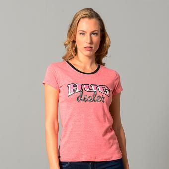 Bum Ladies Limited Message Tee (Acid Pink)