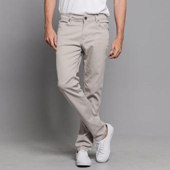 BUM Men's Basic Stretch Twill Pants (Moonmist)